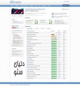 بررسی سرعت بارگزاری سایت با GTMetrix PageSpeed