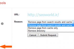 حذف لینک سایت از گوگل Remove URLs وبمستر